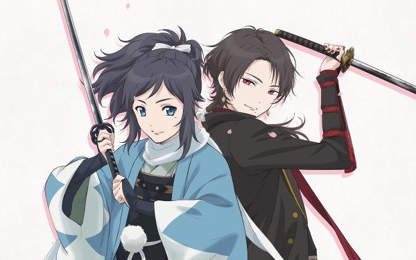 Anime Touken Ranbu Touken Ranbu: Hanamaru HD Wallpaper | Background Image