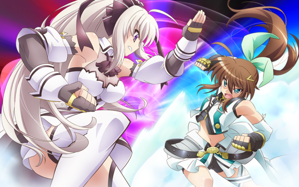 Anime ViVid Strike! Rinne Berlinetta Fuuka Reventon HD Wallpaper | Background Image