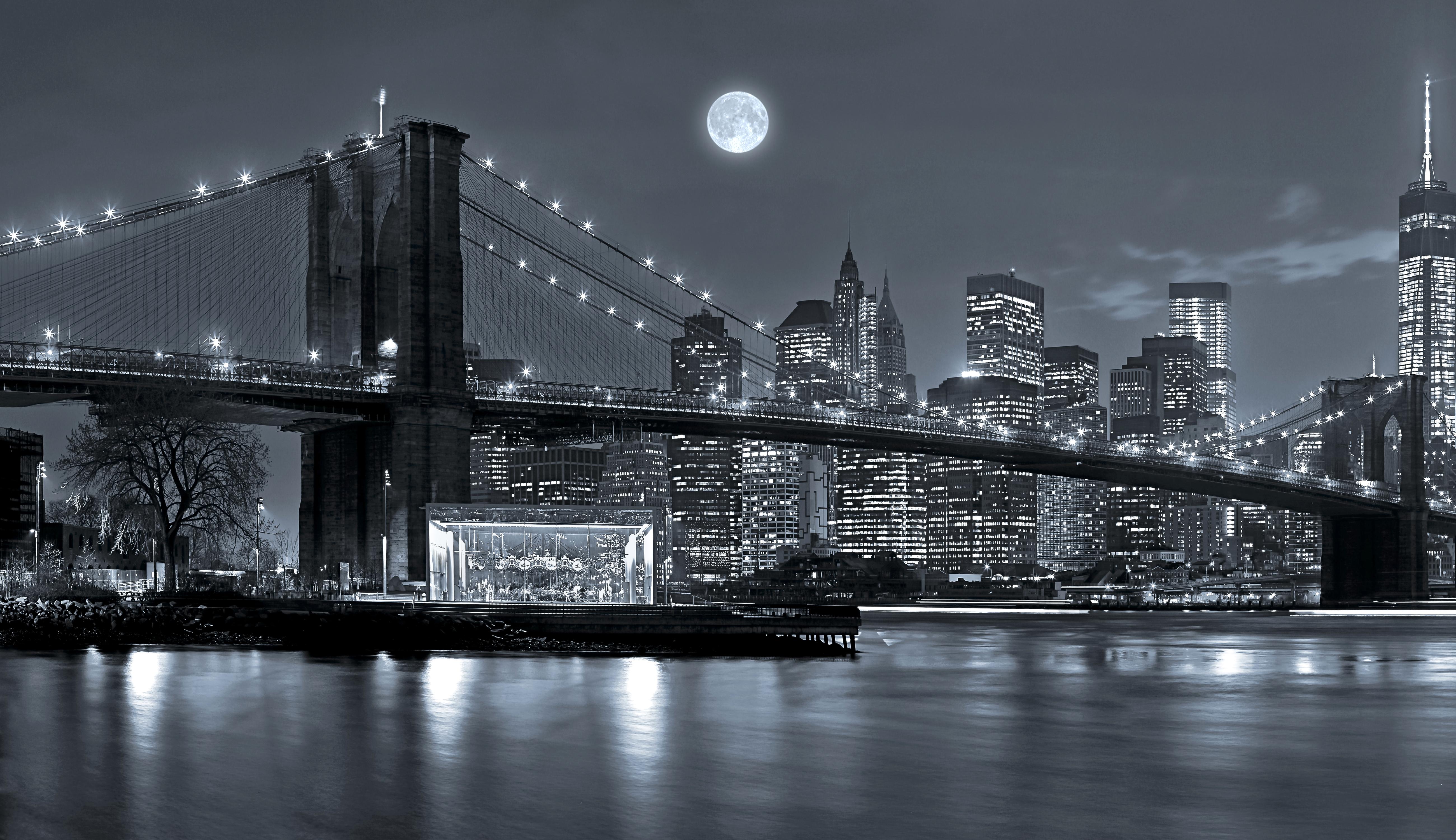 109 Brooklyn Bridge Hd Wallpapers Background Images Wallpaper