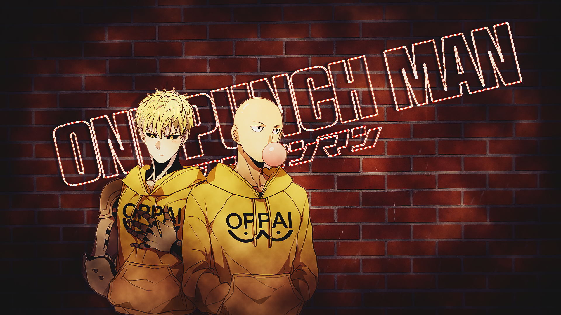Hd wallpaper one punch man - Anime One Punch Man Saitama One Punch Man Genos One