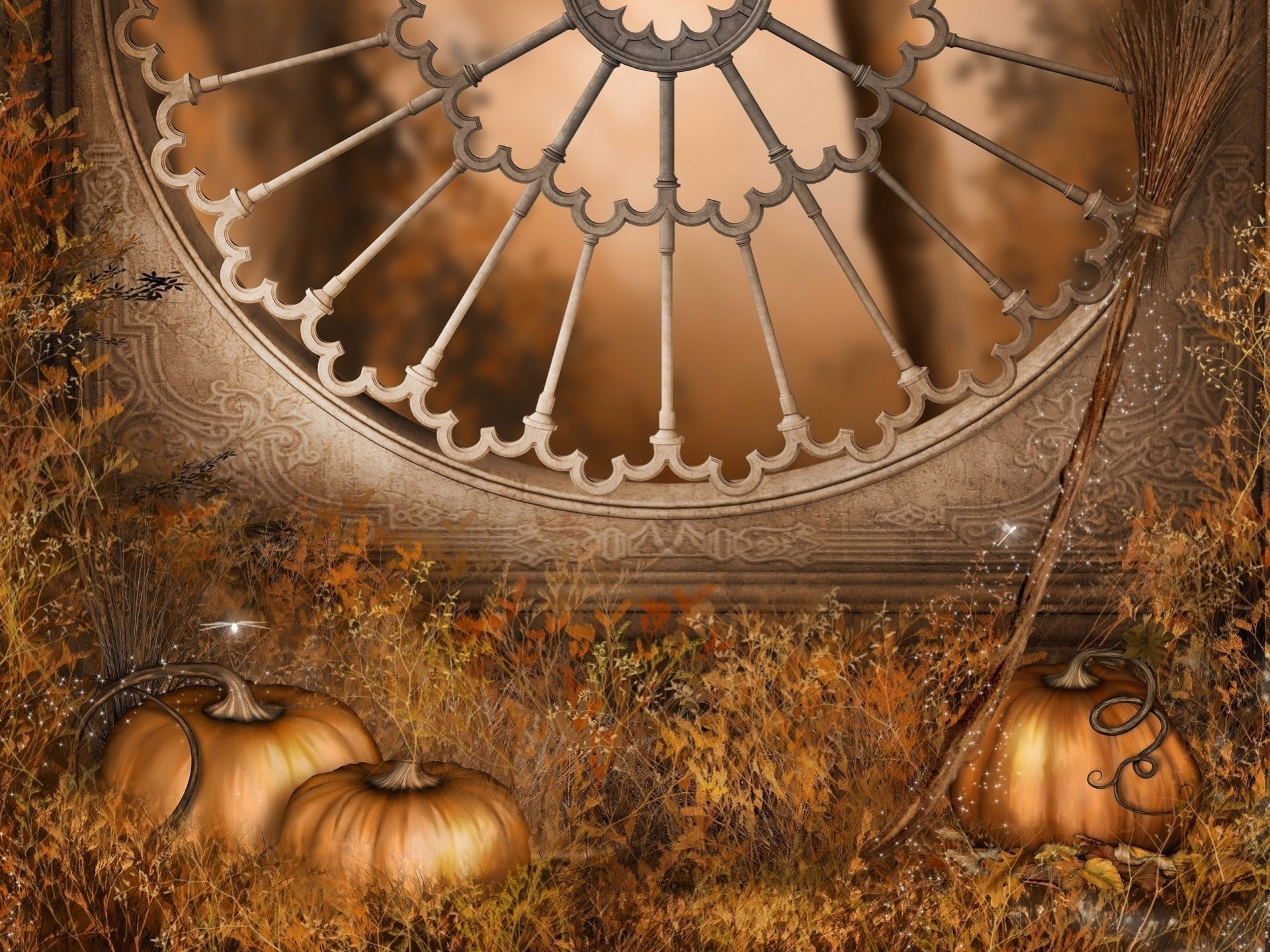 Artistic - Fall  Artistic Pumpkin Wallpaper
