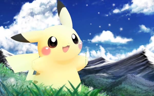 Anime Pokémon Pikachu HD Wallpaper   Background Image