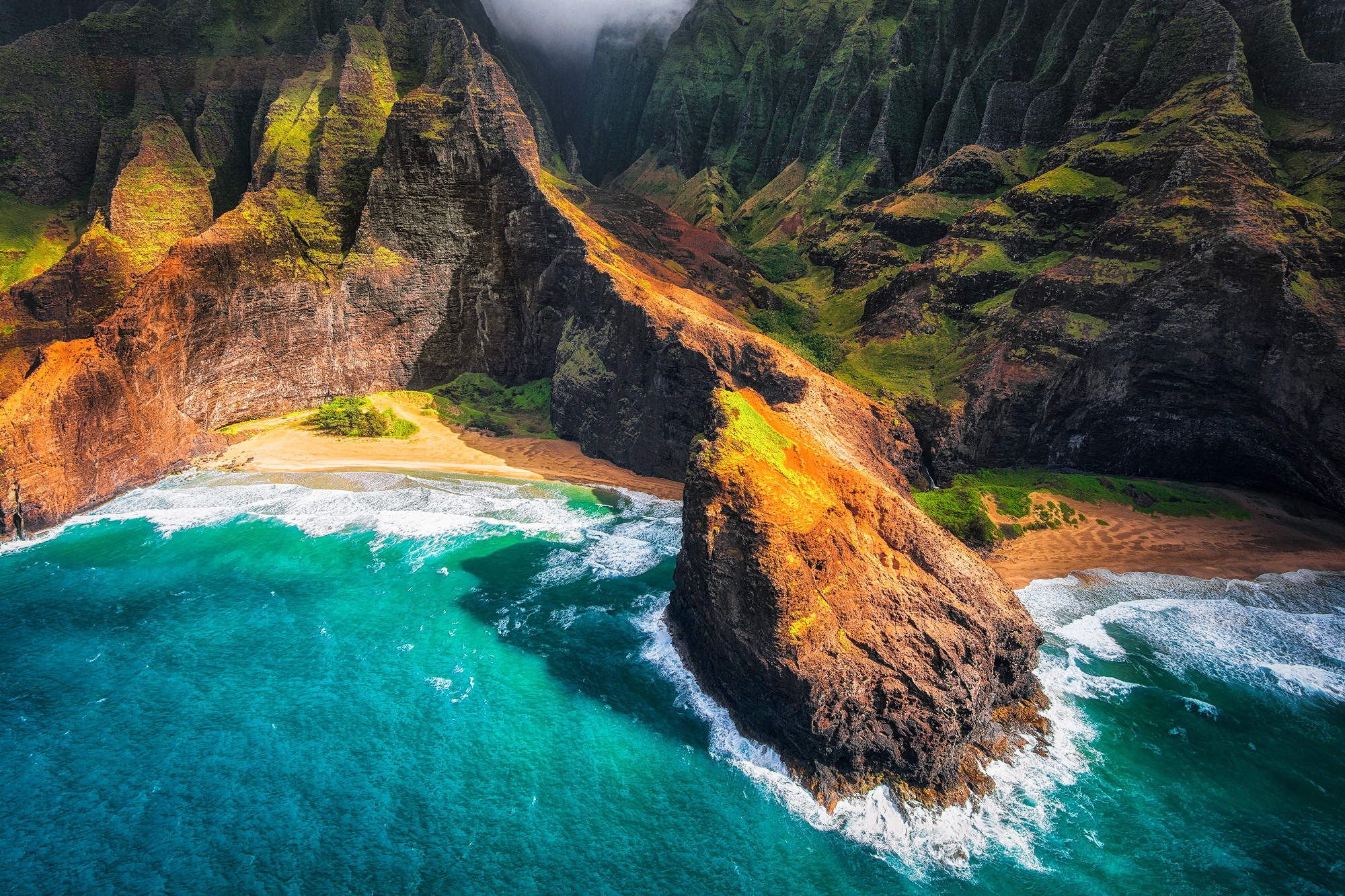 Coast Of Kauai Hawaii Hd Wallpaper Background Image 2000x1333 Id 749626 Wallpaper Abyss