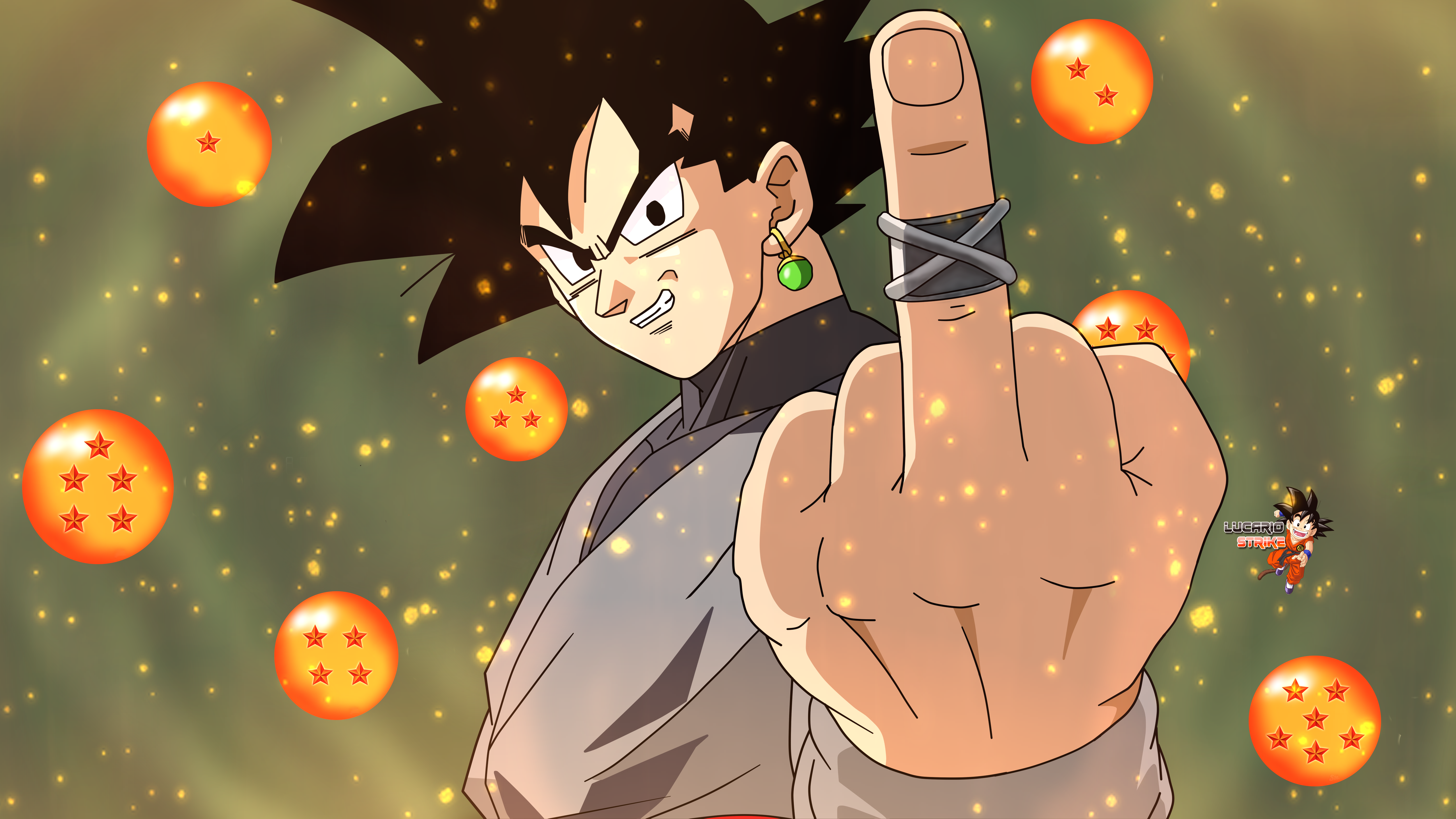 120 Black Goku Hd Wallpapers Background Images Wallpaper