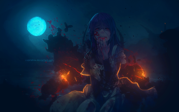 Anime Tokyo Ghoul Rize Kamishiro HD Wallpaper | Background Image