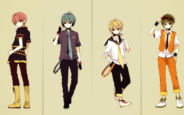 Anime Vocaloid Hatsune Miku Len Kagamine Rin Kagamine Luka Megurine Meiko GUMI Megurine Luki Hatsune Mikuo Genderbend HD Wallpaper | Background Image