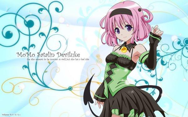 Anime To Love-Ru Momo Velia Deviluke HD Wallpaper | Background Image