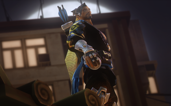 Video Game Overwatch Hanzo HD Wallpaper | Background Image