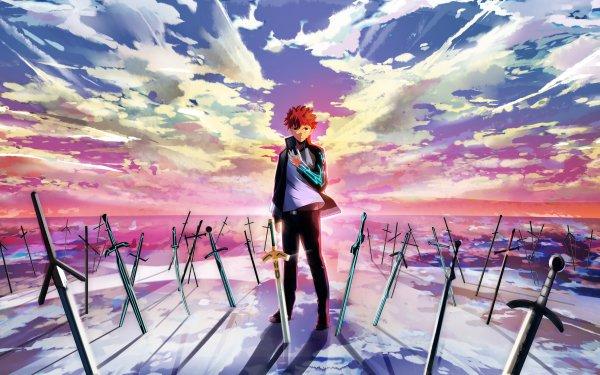 Anime Fate/Stay Night: Unlimited Blade Works Fate Series Shirou Emiya HD Wallpaper | Background Image