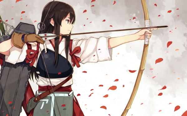 Anime Kantai Collection Akagi HD Wallpaper | Background Image
