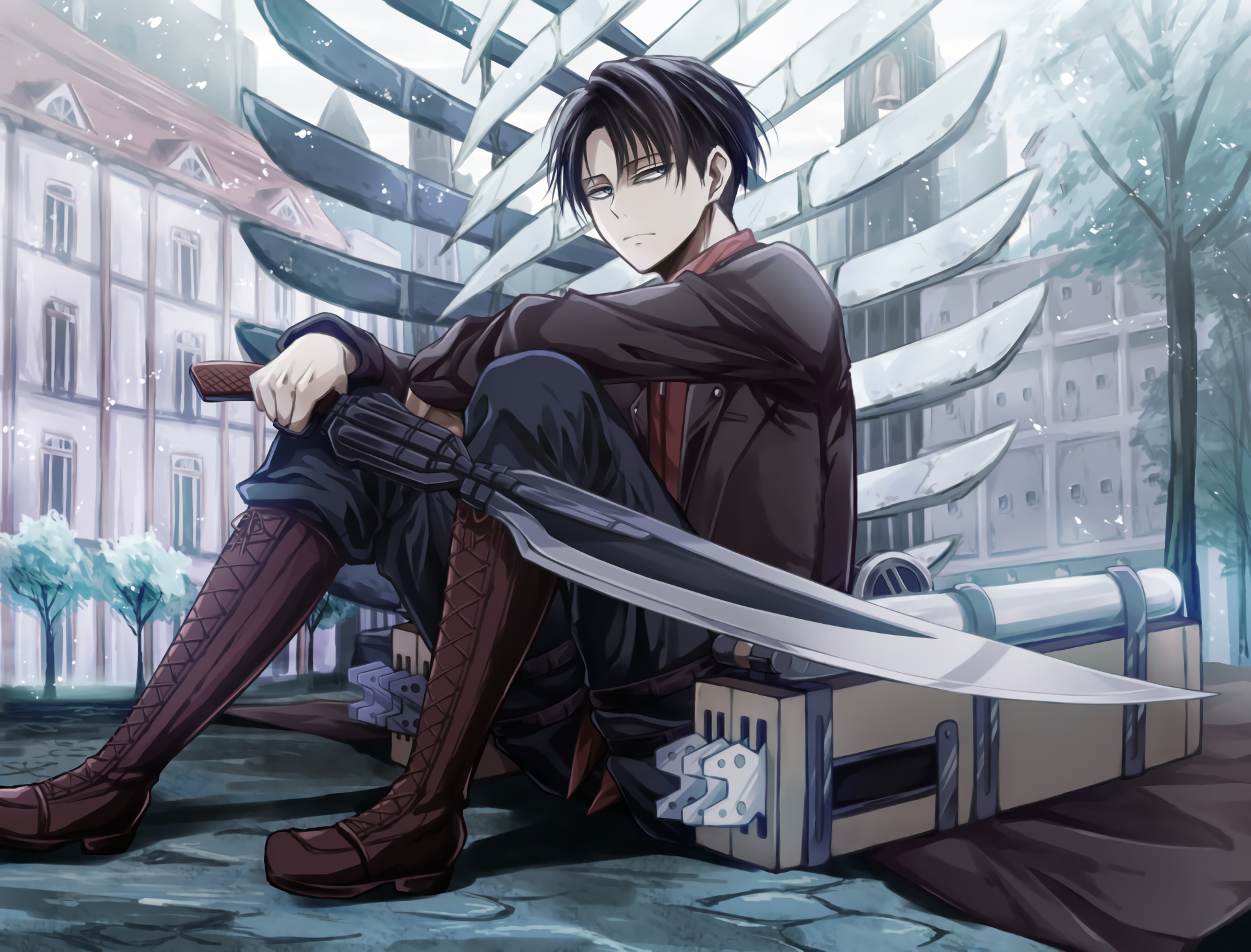 Attack On Titan Hd Wallpaper Background Image 1920x1462 Id 753266 Wallpaper Abyss