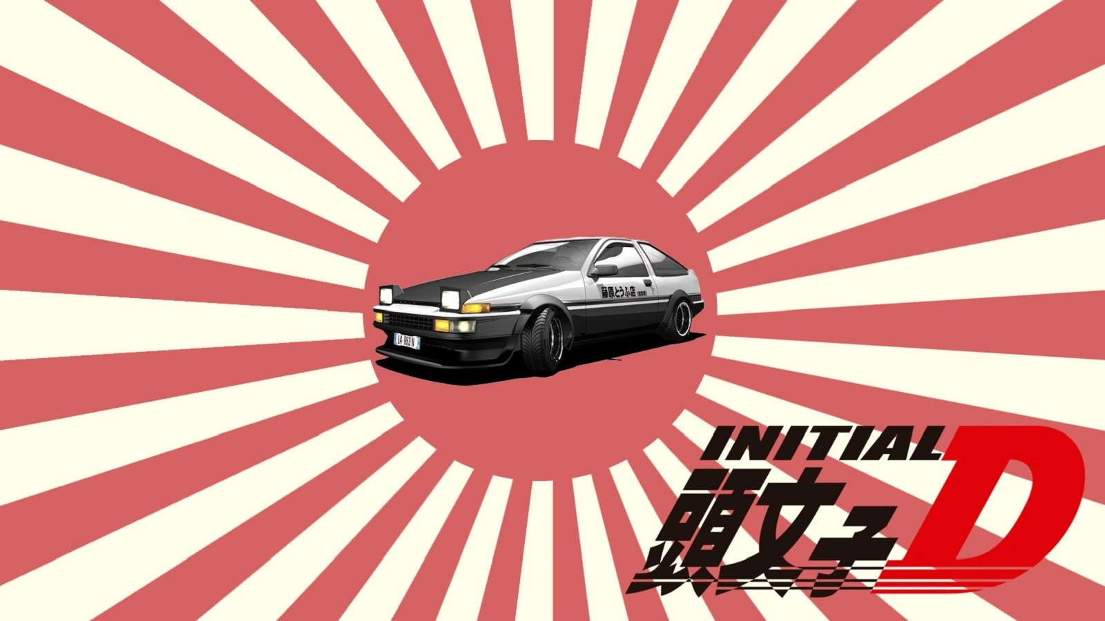Initial D Final Stage Wallpaper And Background Image 1600x900 Id