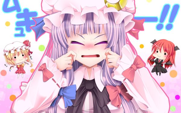 Anime Touhou HD Wallpaper   Background Image