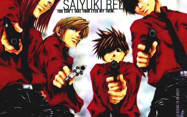 Anime Saiyuki Genjo Sanzo Goku Sha Gojyo Cho Hakkai Saiyuki Reload Fondo de pantalla HD   Fondo de Escritorio