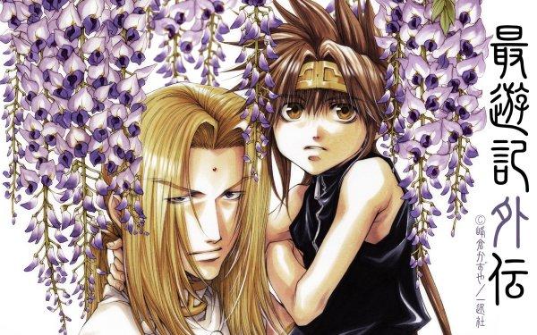 Anime Saiyuki Konzen Douji Goku Saiyuki Gaiden Fondo de pantalla HD   Fondo de Escritorio