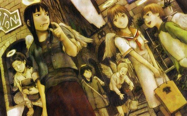 Anime Haibane Renmei Rakka Reki Kuu Nemu Kana Hikari HD Wallpaper | Background Image