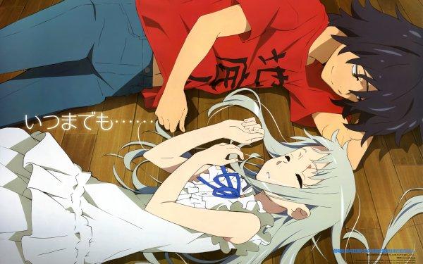 Anime Anohana Jinta Yadomi Meiko Honma HD Wallpaper | Background Image