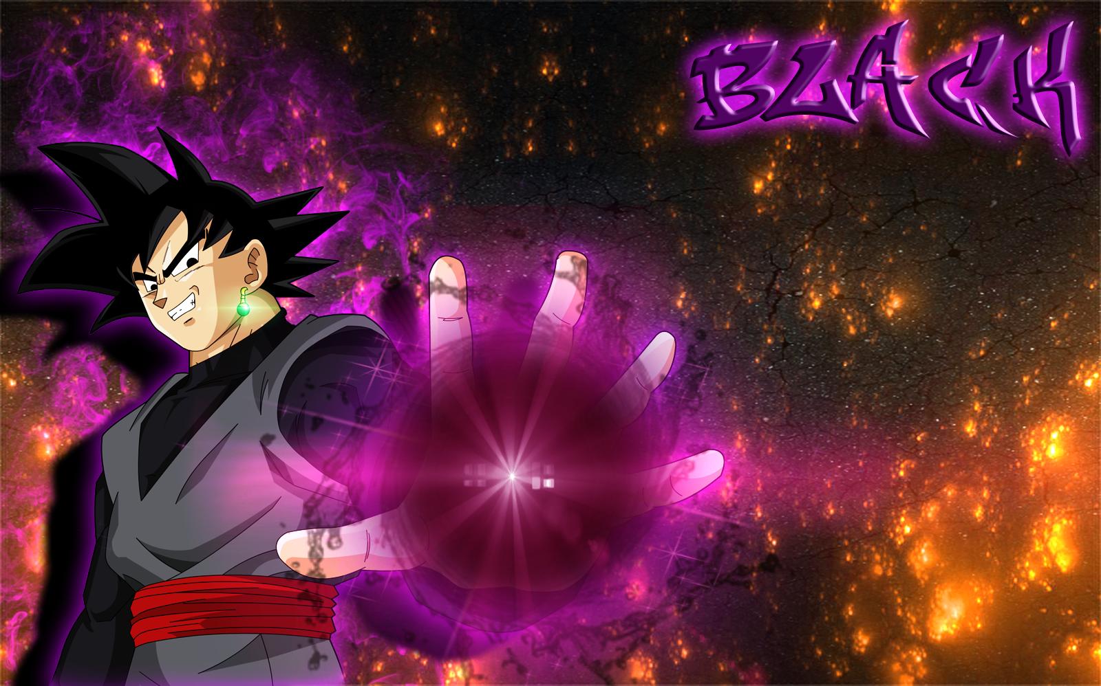 Black Goku Fondo De Pantalla And Fondo De Escritorio