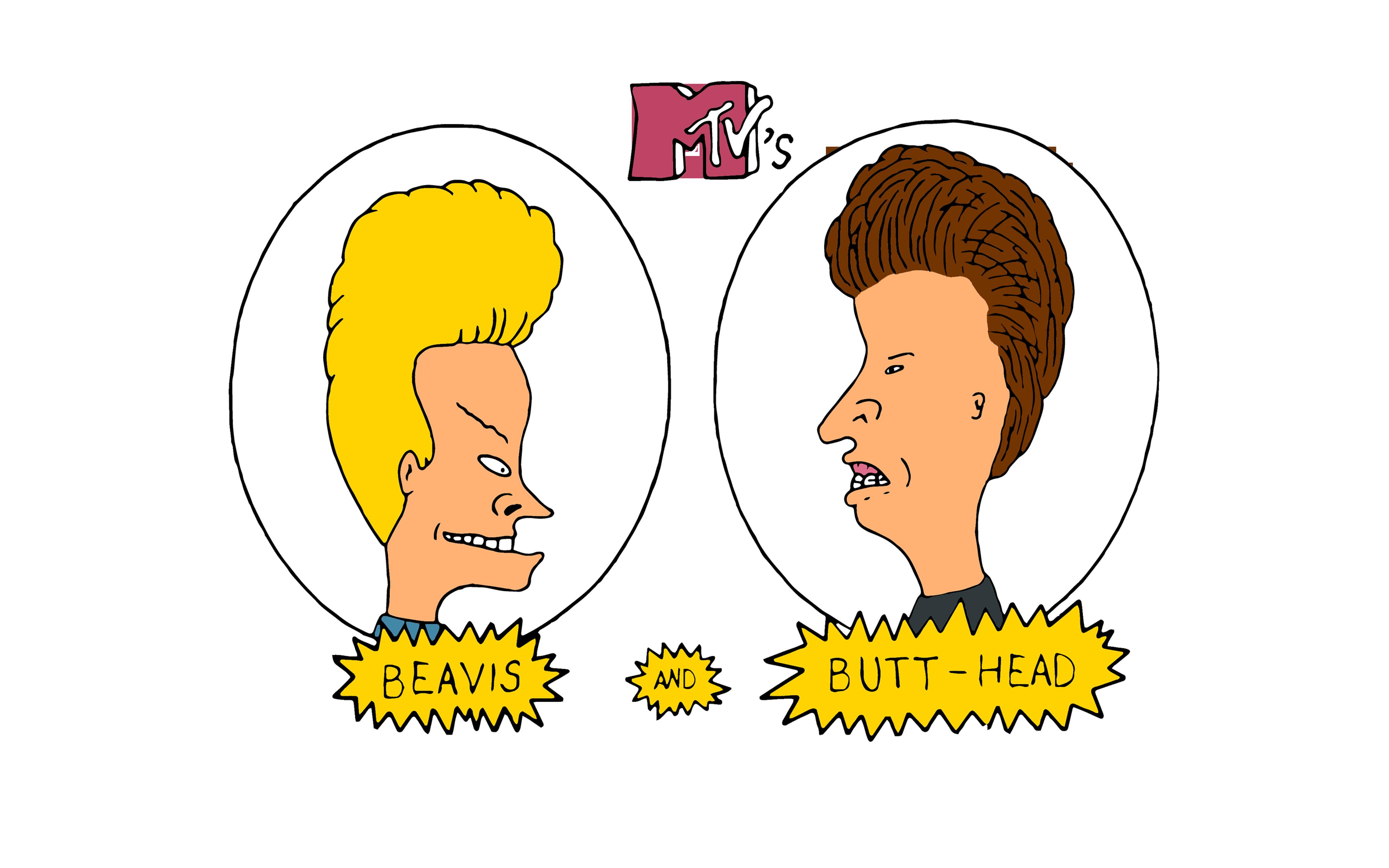 Beavis And Butt-Head 4K Ultra Hd Wallpaper  Background Image  4000X2500  Id765828 -2985