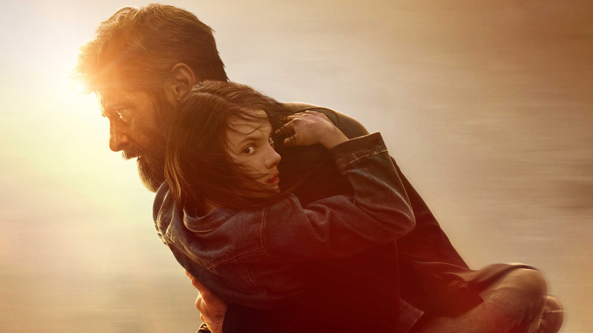 Movie - Logan  Dafne Keen Hugh Jackman Laura Kinney Logan (Movie) Wolverine Marvel Comics Wallpaper