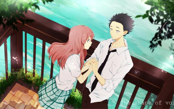 Anime Koe No Katachi Shouko Nishimiya Shouya Ishida HD Wallpaper   Background Image