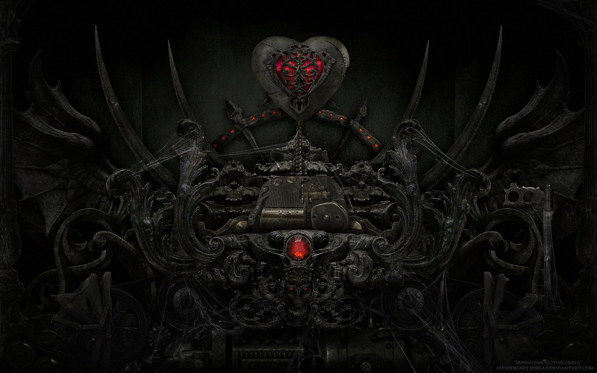 Gothic Heart HD Wallpaper