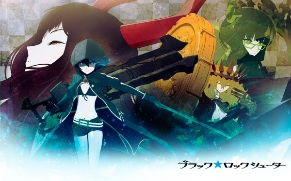 Anime Black Rock Shooter Dead Master Chariot Black Gold Saw HD Wallpaper | Background Image