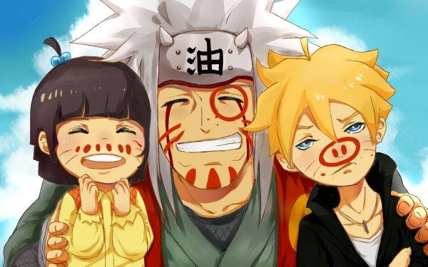 Anime Boruto Naruto Boruto Uzumaki Himawari Uzumaki Jiraiya Fondo de pantalla HD | Fondo de Escritorio