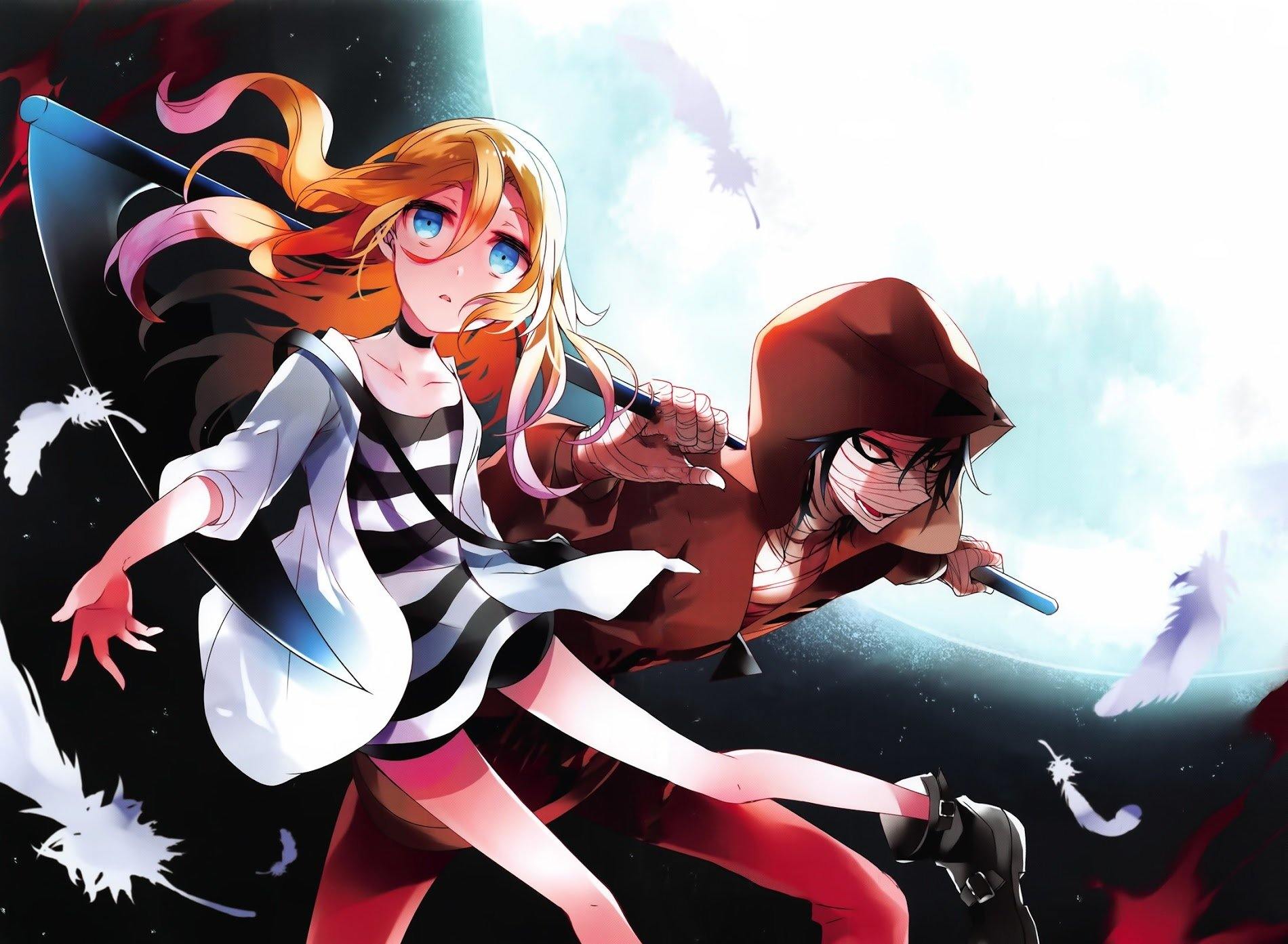 Angels Of Death Wallpaper and Background Image | 1900x1393 ...