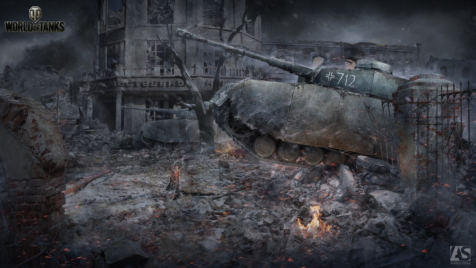 Video Game - World Of Tanks  Panzer IV Tank Wallpaper