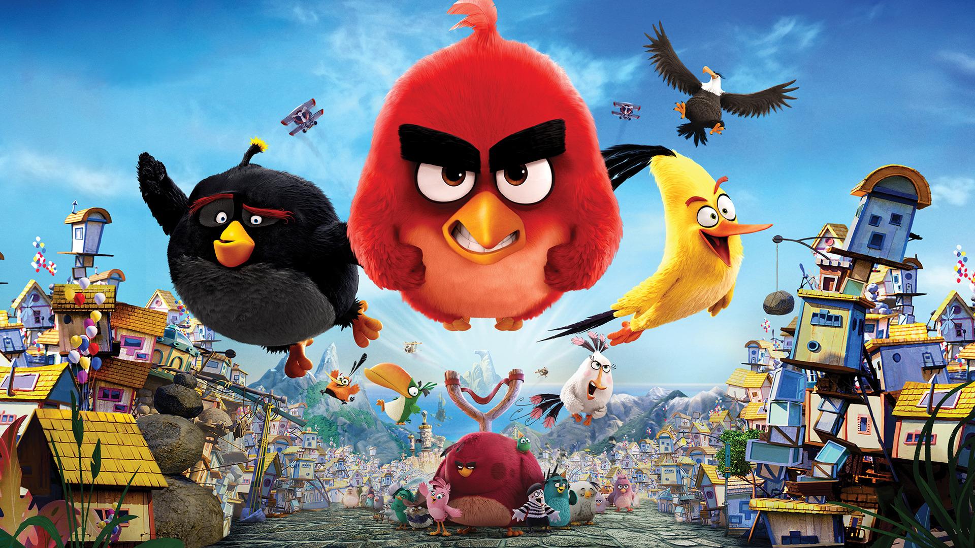 The Angry Birds Movie Papel de Parede HD | Plano de Fundo ...