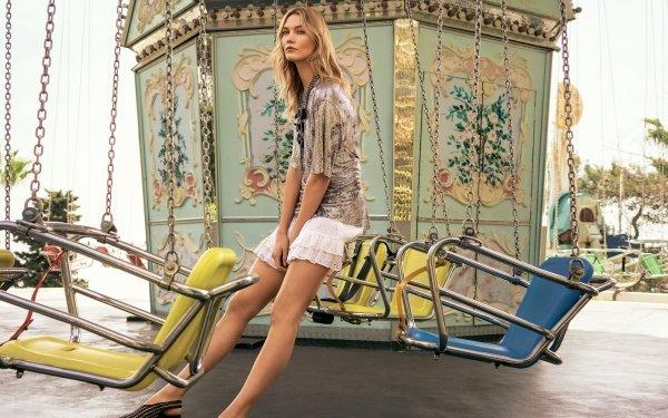 Celebrity Karlie Kloss Models United States Model American Blonde HD Wallpaper | Background Image
