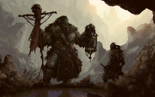 Fantaisie Orc Guerrier Fond d'écran HD | Image