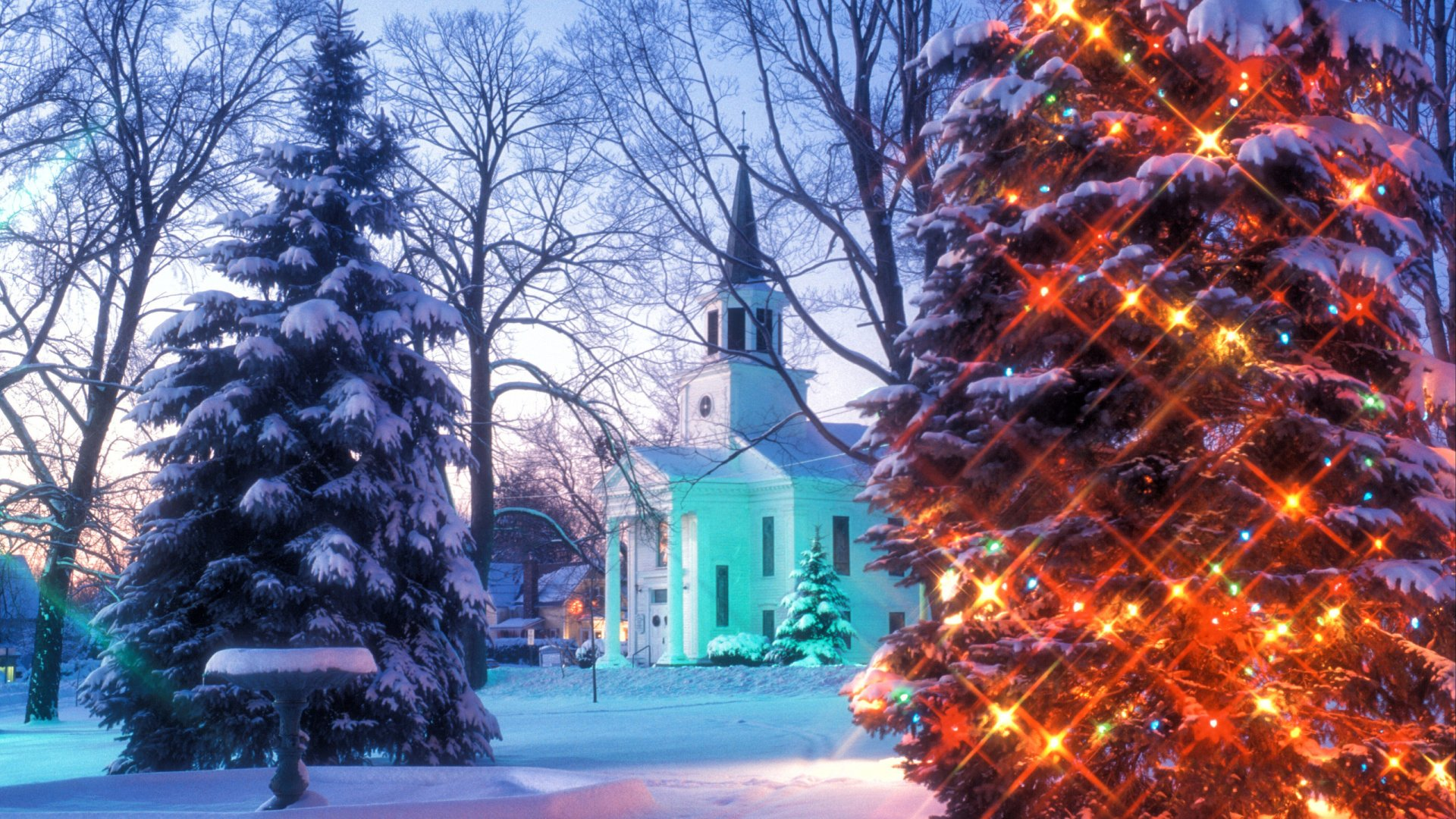 Christmas in Vermont HD Wallpaper | Background Image ...