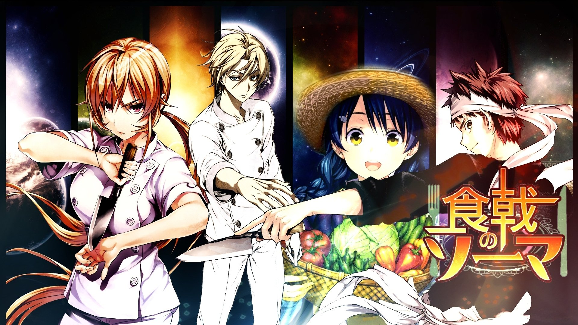 Food Wars: Shokugeki No Soma Wallpaper And Background