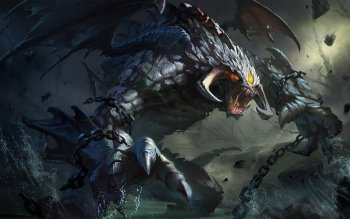 3 Roshan DotA 2 HD Wallpapers