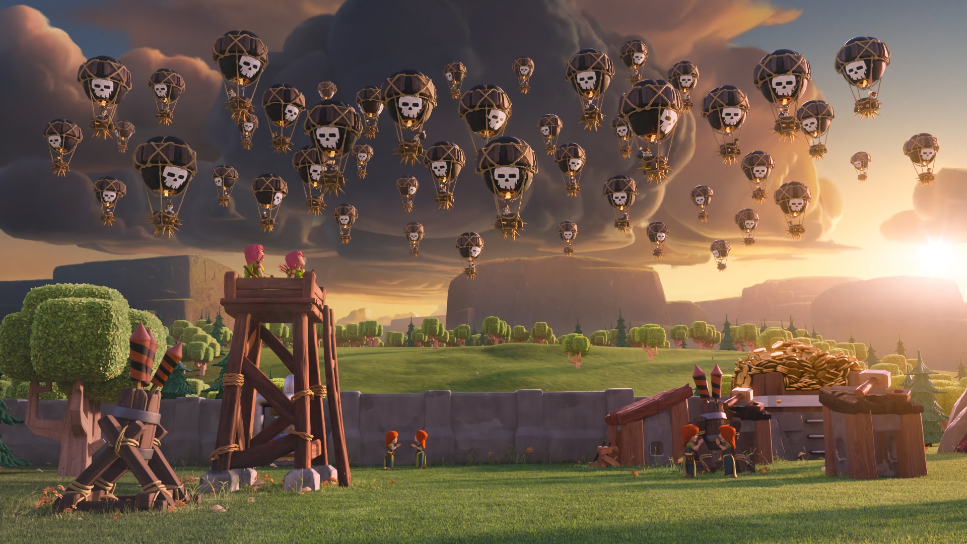 Clash of Clans Full HD Wallpaper and Background 1920x1080 ID