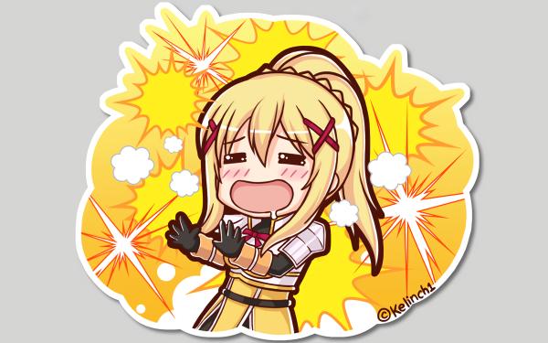 Anime KonoSuba – God's blessing on this wonderful world!! Darkness KonoSuba HD Wallpaper | Background Image