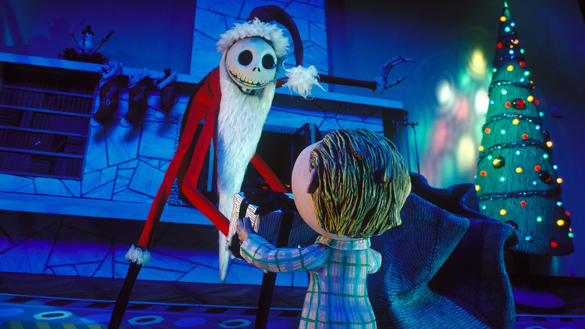 Nightmare Before Christmas Hd Wallpaper.The Nightmare Before Christmas Hd Wallpaper Background