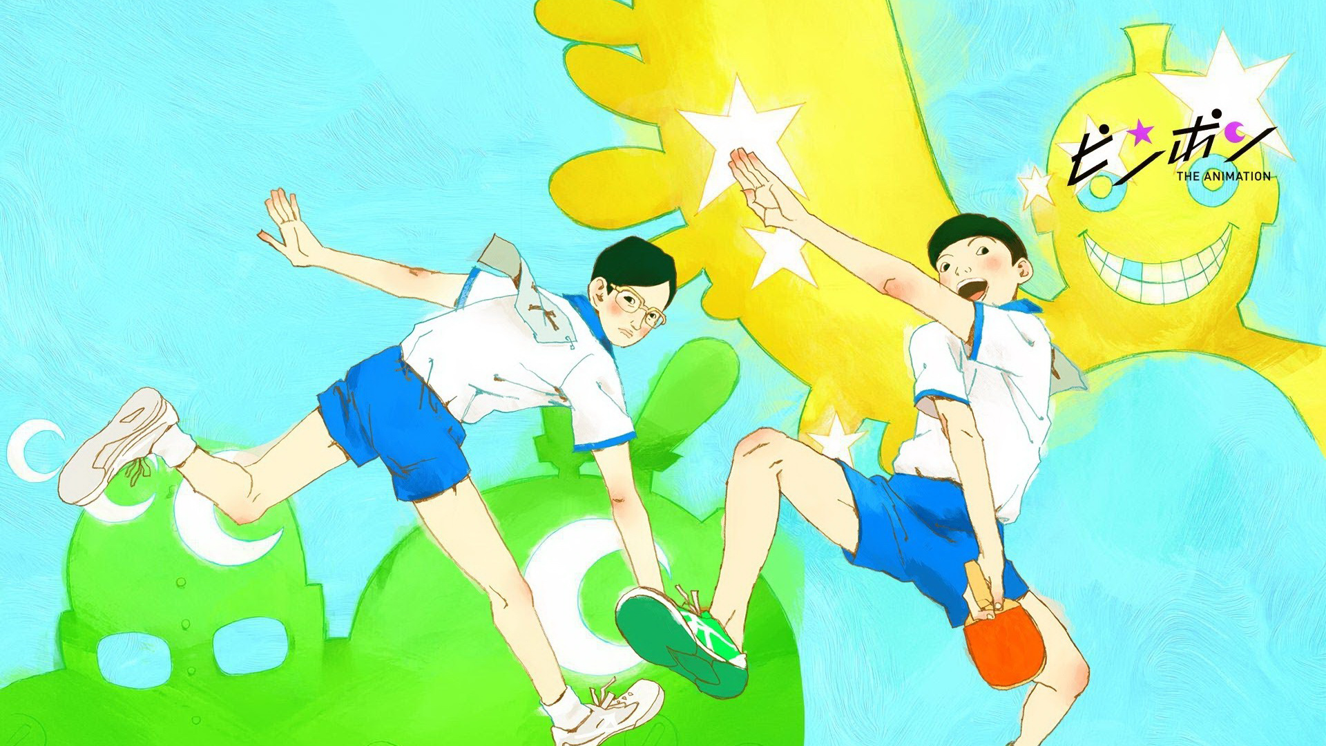 1 Ping Pong The Animation Hd Wallpapers Background Images