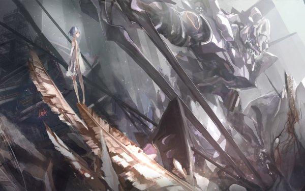 Anime Neon Genesis Evangelion Evangelion Rei Ayanami Evangelion Unit-01 HD Wallpaper | Background Image