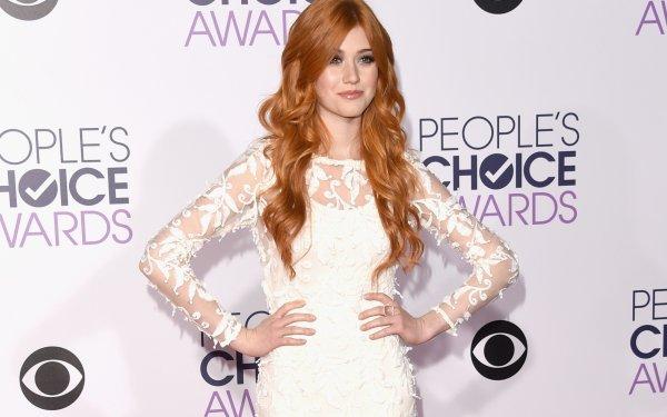 Celebrity Katherine Mcnamara Actresses United States Actress American Redhead Brown Eyes White Dress HD Wallpaper   Background Image