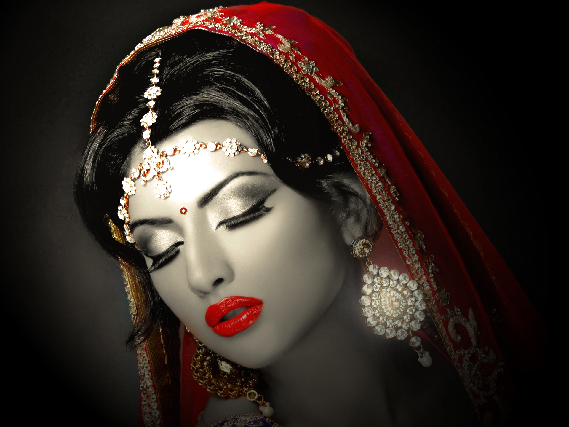 f24b60c1ab1d Indian Bride HD Wallpaper | Background Image | 1920x1440 | ID:787908 -  Wallpaper Abyss