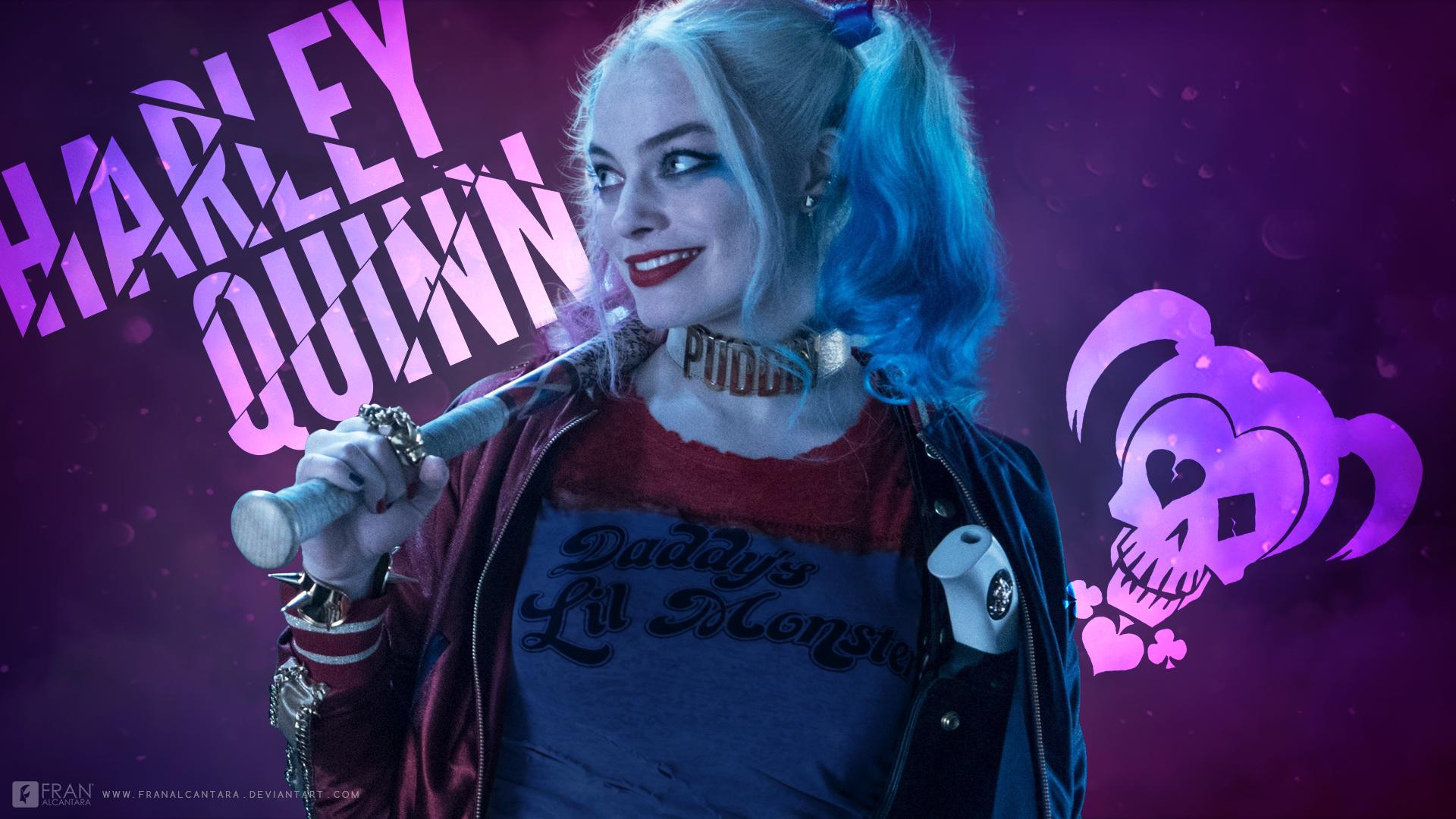 Harley Quinn Wallpaper By Franalcantara Fondo De Pantalla Hd