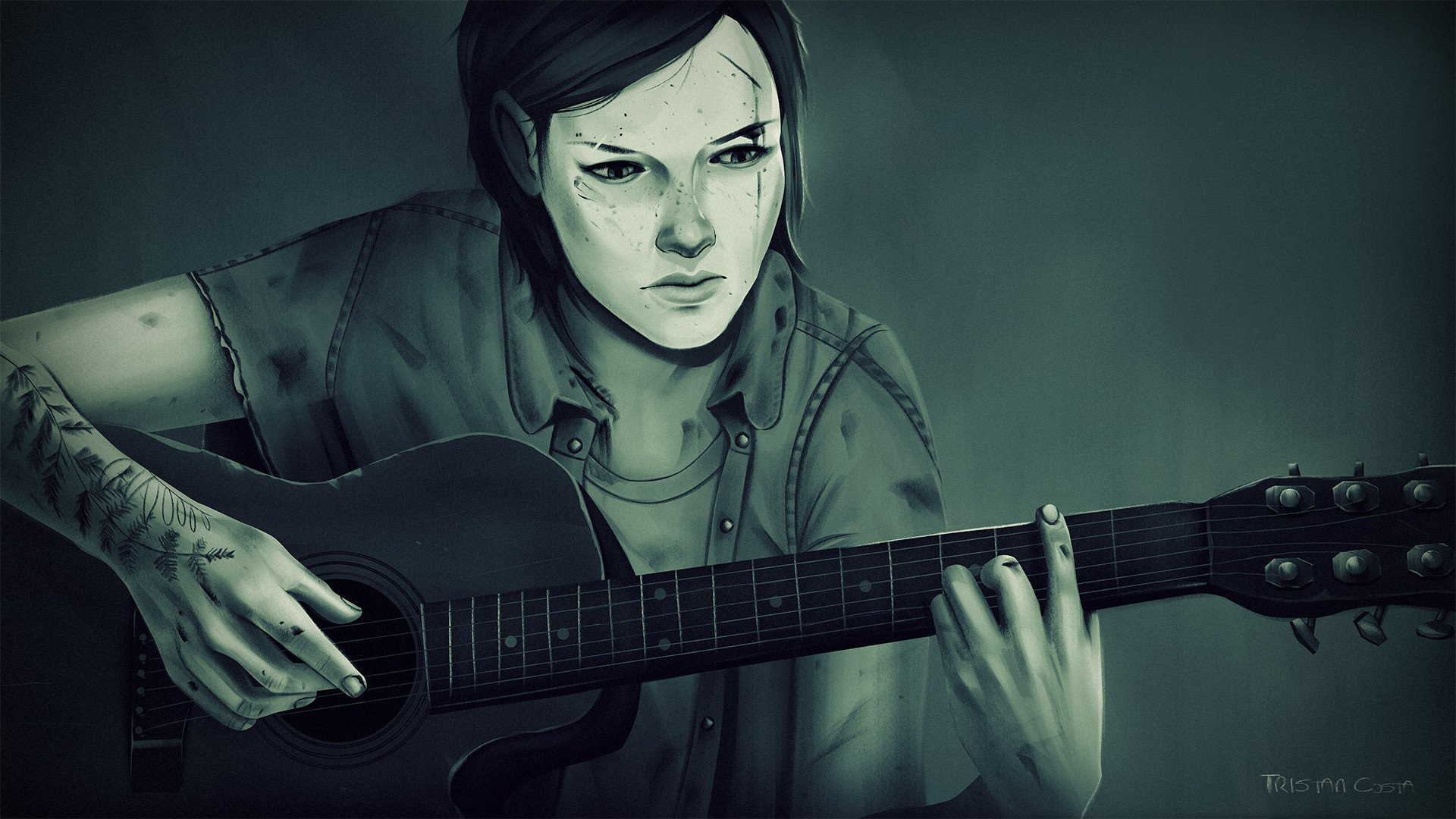 67 Ellie The Last Of Us Hd Wallpapers Background Images