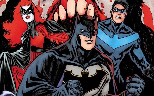 Comics Batman Nightwing Batwoman HD Wallpaper   Background Image