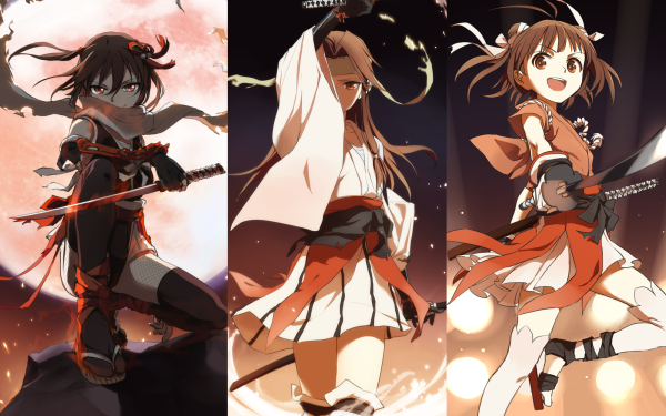 Anime Kantai Collection Sendai Naka Jintsuu HD Wallpaper   Background Image
