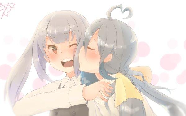 Anime Kantai Collection Kasumi Kiyoshimo HD Wallpaper | Background Image