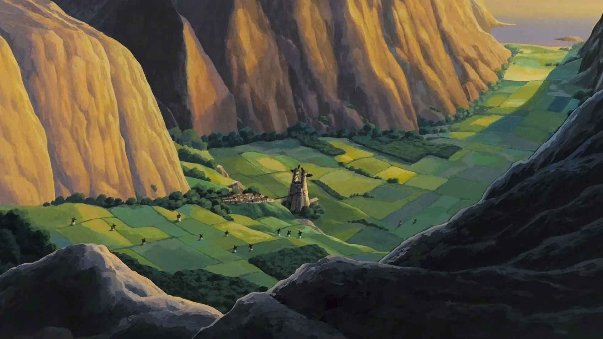 Nausicaa Of The Valley Of The Wind Hd Wallpaper Background Image