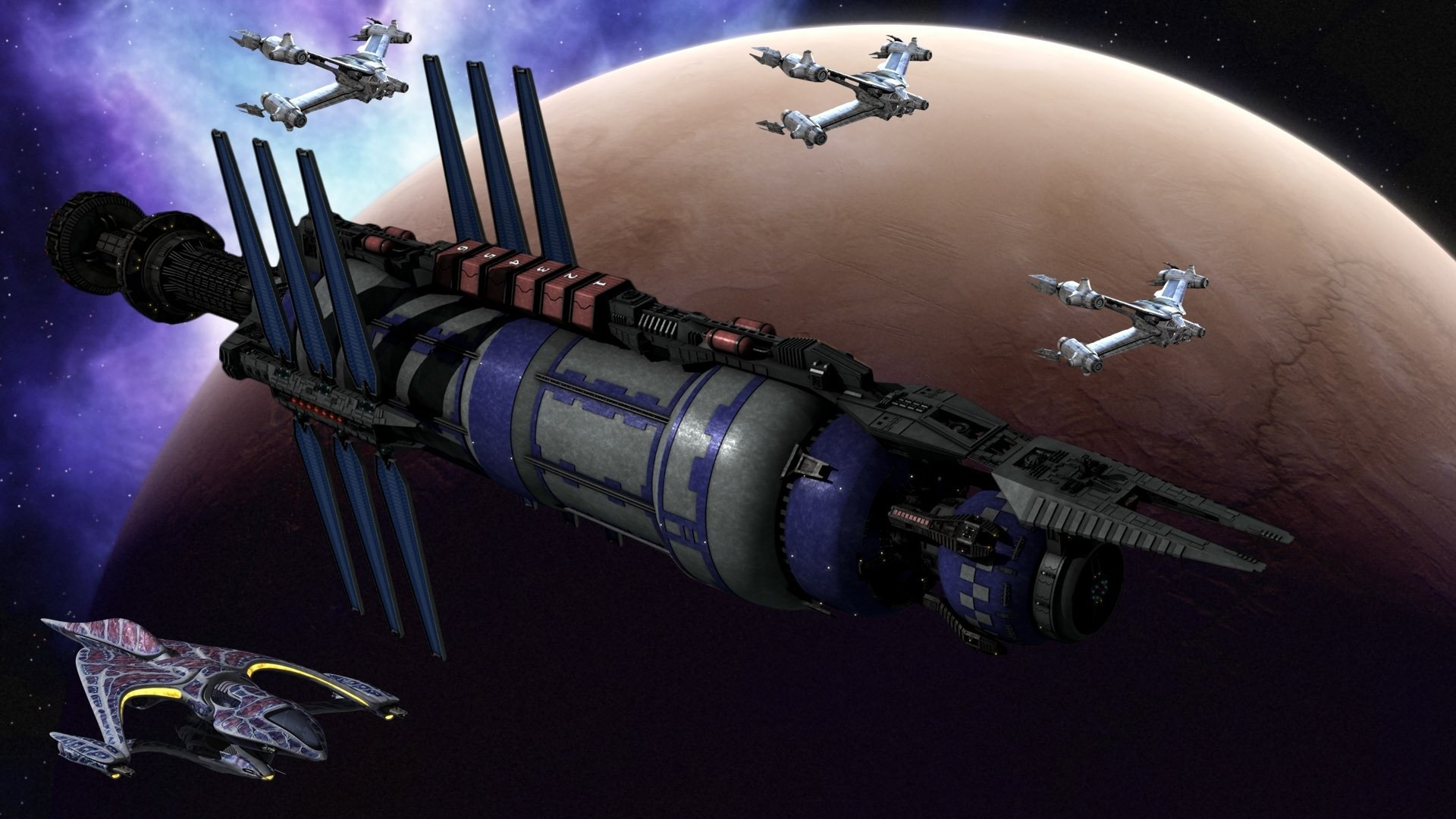 Babylon 5 HD Wallpaper | Background Image | 1920x1080 | ID ...